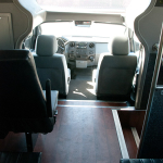 27 Passenger Executive Mini Bus Interior