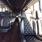 36 Passenger Executive Bus Interior