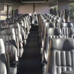 40 Passenger Coach Bus Interior