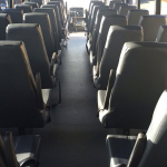 40 Passenger Coach Bus Interior #2
