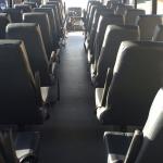 40 Passenger Coach Bus Interior #2